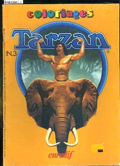 COLORIAGES TARZAN N° 3.