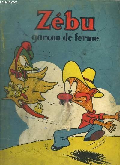 ZEBU GARCON DE FERME.