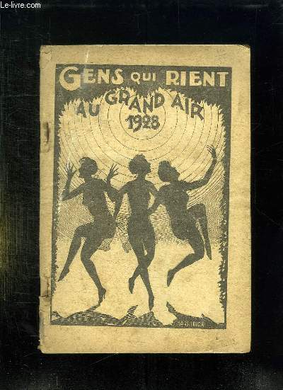 ALMANACH DES GENS QUI RIENT.1928.