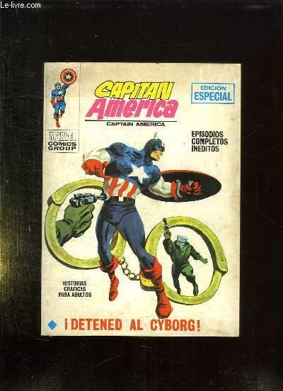 CAPITAN AMERICA N° 10. TEXTE EN ESPAGNOL.