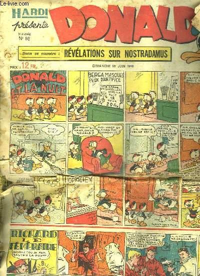 DONALD N° 66. DU DIMANCHE 20 JUIN 1948.