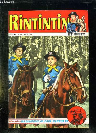 RINTIN ET RUSTY N° 66. LE FRERE DE RIP.