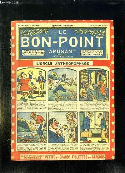 LE BON POINT N° 406 DU 9 SEPTEMBRE 1920. L ONCLE ANTHROPOPHAGE.
