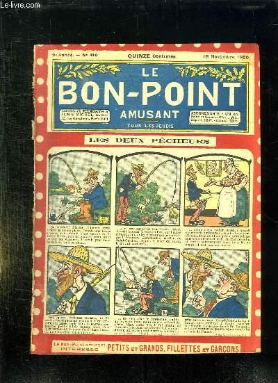 LE BON POINT N° 416 DU 18 NOVEMBRE 1920. LES DEUX PECHEURS.