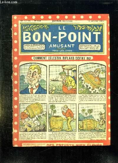 LE BON POINT N° 423 DU 6 JANVIER 1921.