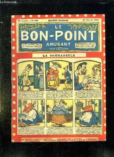 LE BON POINT N° 430 DU 24 FEVRIER 1921. LA SOMNAMBULE.