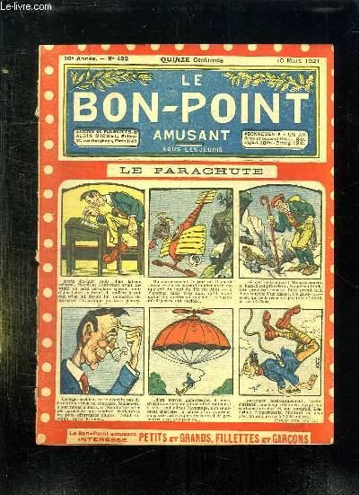 LE BON POINT N° 432 DU 10 MARS 1921. LE PARACHUTE.