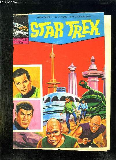 STAR TREK N° 6. LA PLANETE PIRATE.