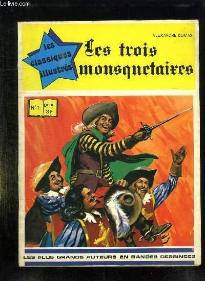 LES TROIS MOUSQUETAIRES N° 1.