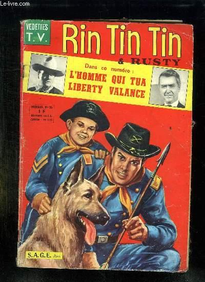 RIN TIN TIN ET RUSTY N° 36. LE CIMETIERE INDIEN.