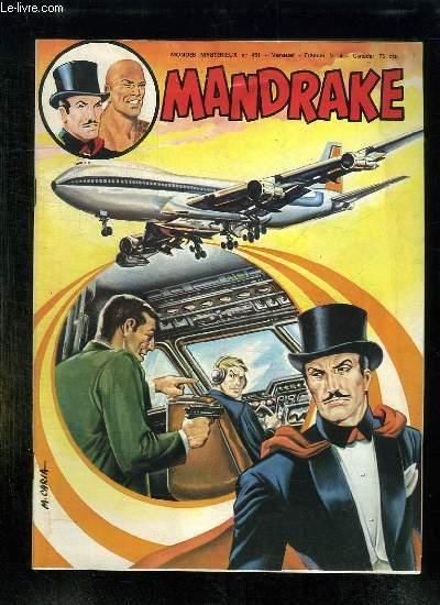 MANDRAKE N° 451. LES PIRATES DE L AIR.