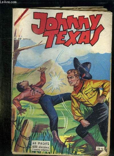JOHNNY TEXAS N° 23.