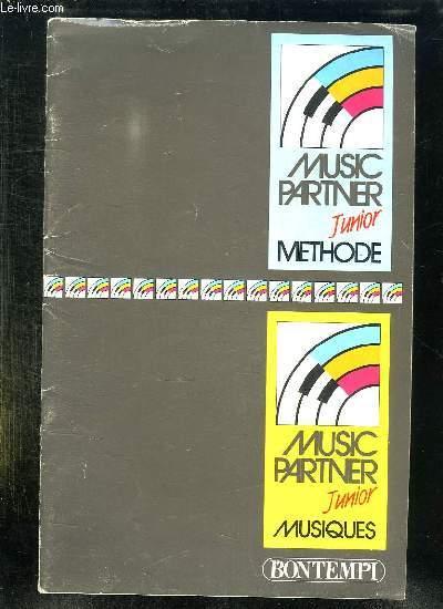 MUSIC PARTNER JUNIOR METHODE.