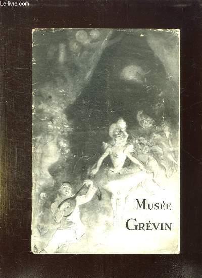 MUSEE GREVIN CATALOGUE ILLUSTRE 1941. 145em EDITION.