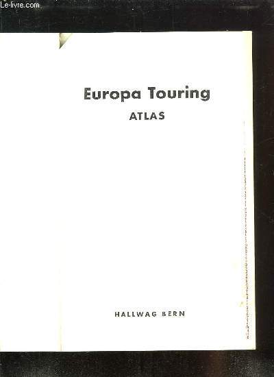 EUROPA TOURING ATLAS.