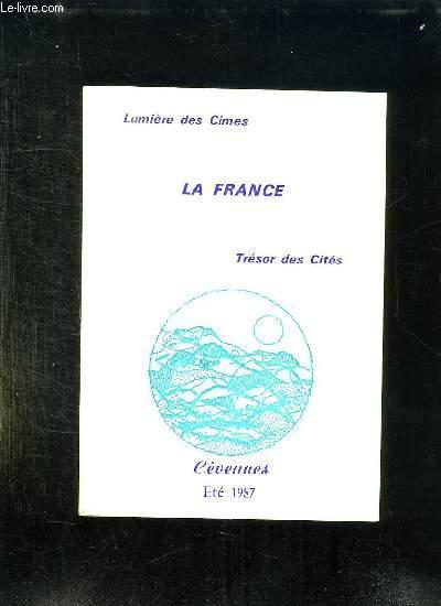 LUMIERE DES CIMES LA FRANCE TRESOR DES CITES N° 36.