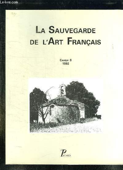 LA SAUVEGARDE DE L ART FRANCAIS. CAHIER 6.