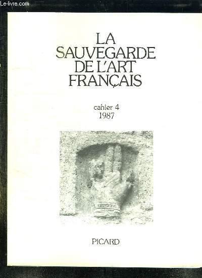 LA SAUVEGARDE DE L ART FRANCAIS CAHIER 4.