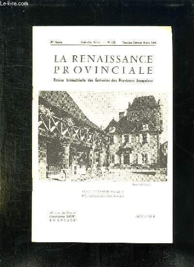 LA RENAISSANCE PROVINCIALE N° 153 JANVIER FEVRIER MARS 1966. PLACE DE DOMME...