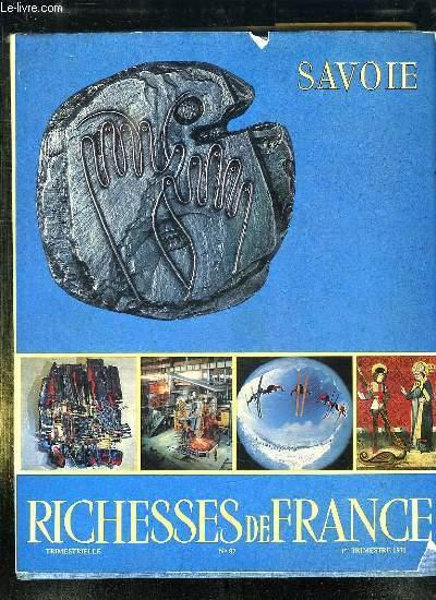 RICHESSE DE FRANCE N° 87. SAVOIE .
