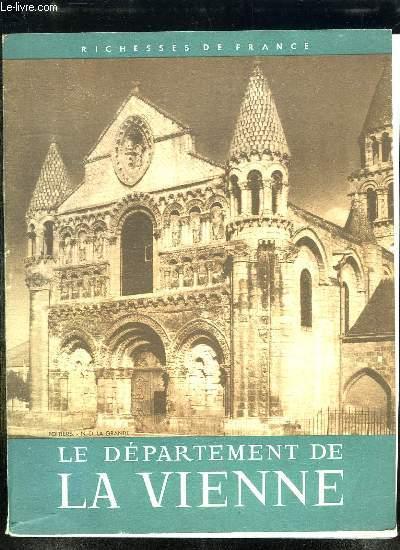 LE DEPARTEMENT DE LA VIENNE.