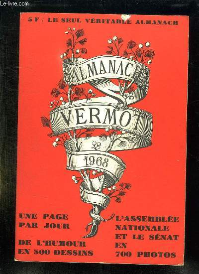 ALMANACH VERMOT 1968.