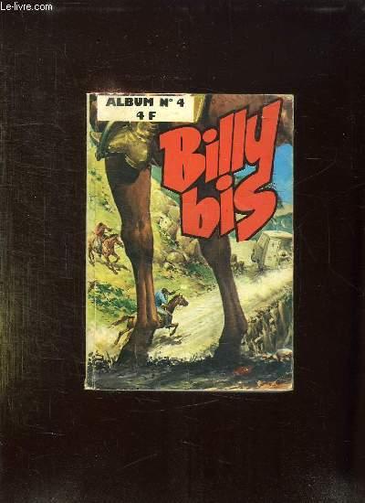 BILLY BIS ALBUM N° 4. DU N° 13 AU N° 16.