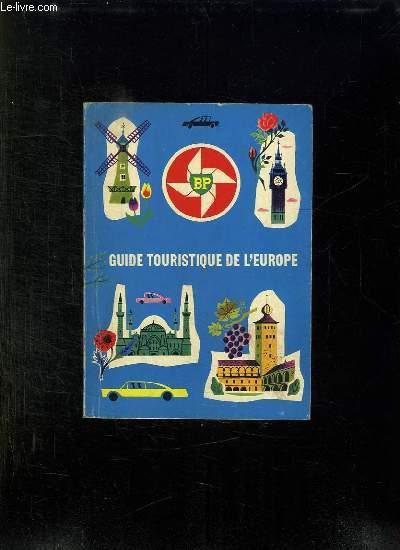 GUIDE TOURISTIQUE DE L EUROPE.