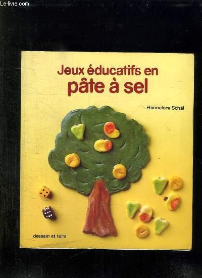 JEUX EDUCATIFS EN PATE A SEL.