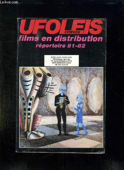 REPERTOIRE UFOLEIS CITEVOX. FILES EN DISTRIBUTION 81 - 82.