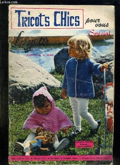 TRICOTS CHICS N° 121.