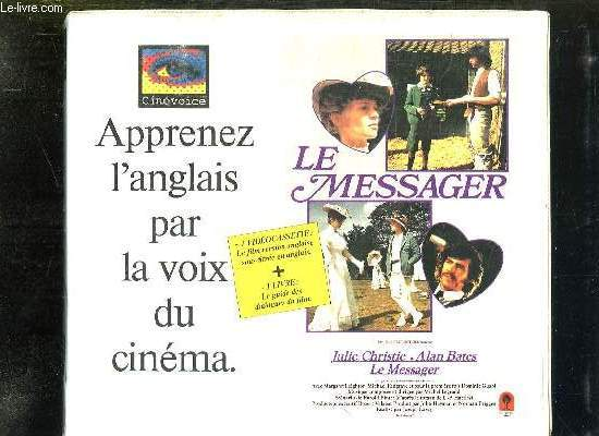APPRENEZ L ANGLAIS PAR LA VOIS DU CINEMA. LE MESSAGER 1 VIDEO CASSETTE + 1 LIVRE.