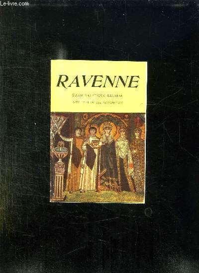 RAVENNE. GUIDE  ARTISTIQUE ILLUSTRE AVEC LE PLAN DES MONUMENTS.