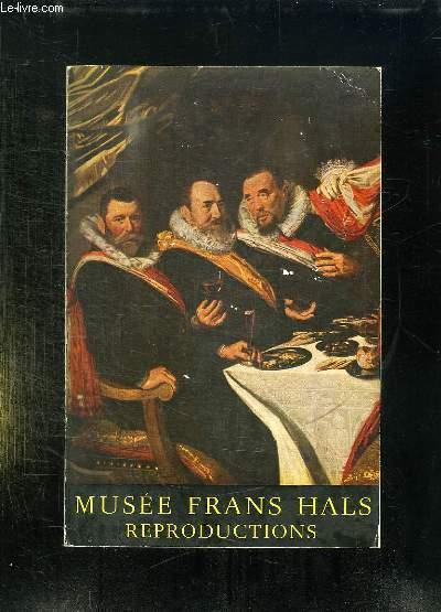FRANS HALSMUSEUM. MUSEE MUNICIPAL DE HAARLEM.