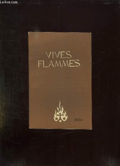 VIVES FLAMMES N° 4 AVRIL 1965. VARIETE ET UNITE DU PEUPLE DE DIEU.