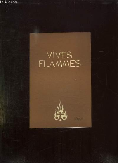 VIVES FLAMMES N° 6 JUIN 1965. ST THERESE DE L ENFANT JESUS DECOUVRE L EGLISE.