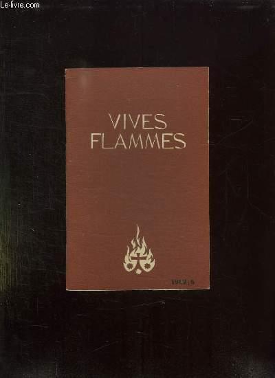 VIVES FLAMMES N° 6 JUIN 1962. ORAISON POUR LE CONCILE.