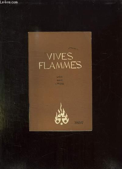 VIVES FLAMMES N° 2 MARS AVRIL 1965. LAIC QUE DIS TU DE TOI MEME.