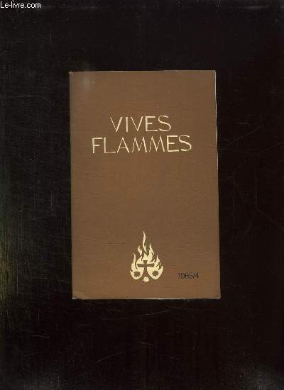 VIVES FLAMMES N° 4 JUILLET AOUT 1965. LAICS DANS L EGLISE.