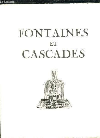 FONTAINES ET CASCADES.