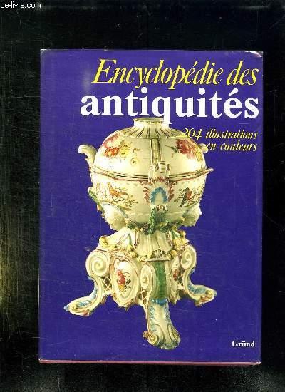ENCYCLOPEDIE DES ANTIQUITES.