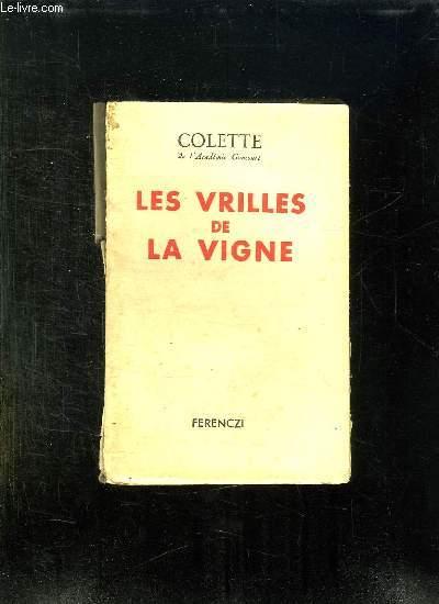LES VRILLES DE LA VIGNE.