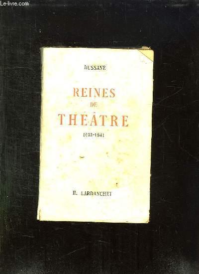 REINES DE THEATRE 1633 - 1941.