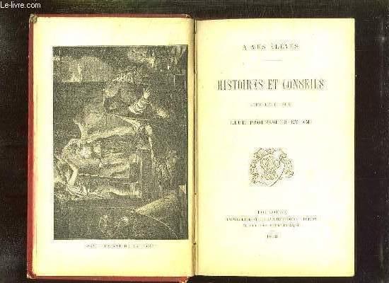 HISTOIRES ET CONSEILS D UN RELIGIEUX.