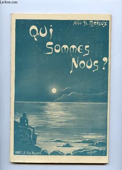 QUI SOMMES NOUS ?