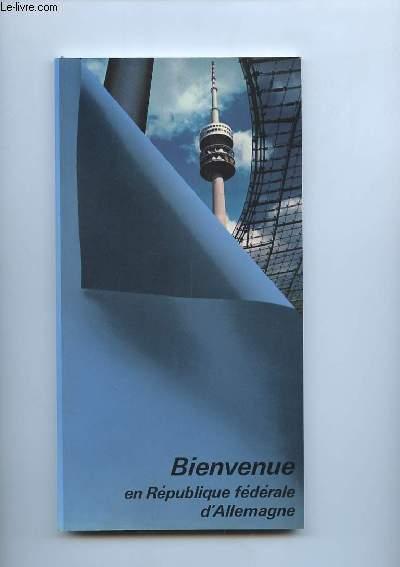 BIENVENUE EN REPUBLIQUE FEDERALE D ALLEMAGNE. 1985.