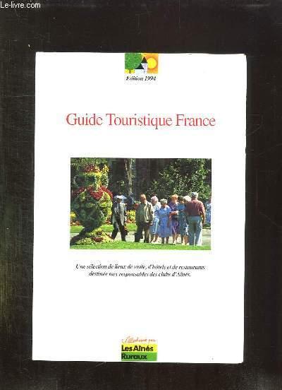 GUIDE TOURISTIQUE FRANCE.