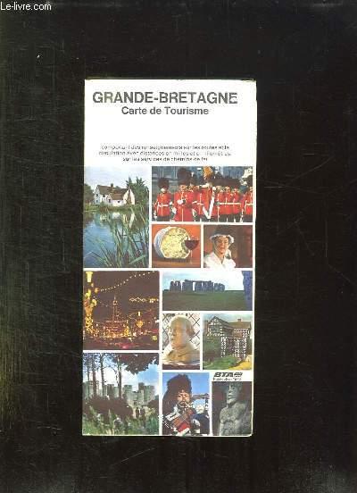 GRANDE BRETAGNE CARTE DE TOURISME.
