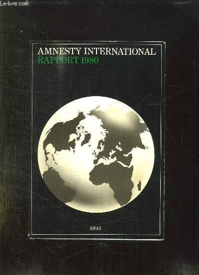 AMNESTY INTERNATIONAL RAPPORT 1980.