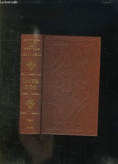 BICENTENAIRE GAEZ ARCS. 1780 / 1980. LIVRE D OR.